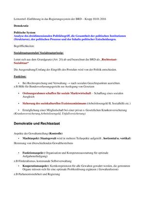 Zusammenfassung - Vorlesung - Begrifflichkeiten und Zusammenhänge ...