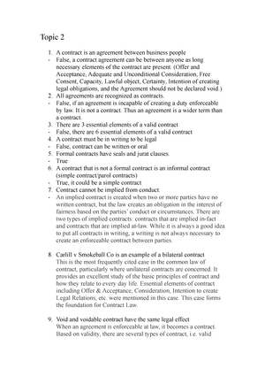 Exam 2017 Blo1105 Business Law Studocu