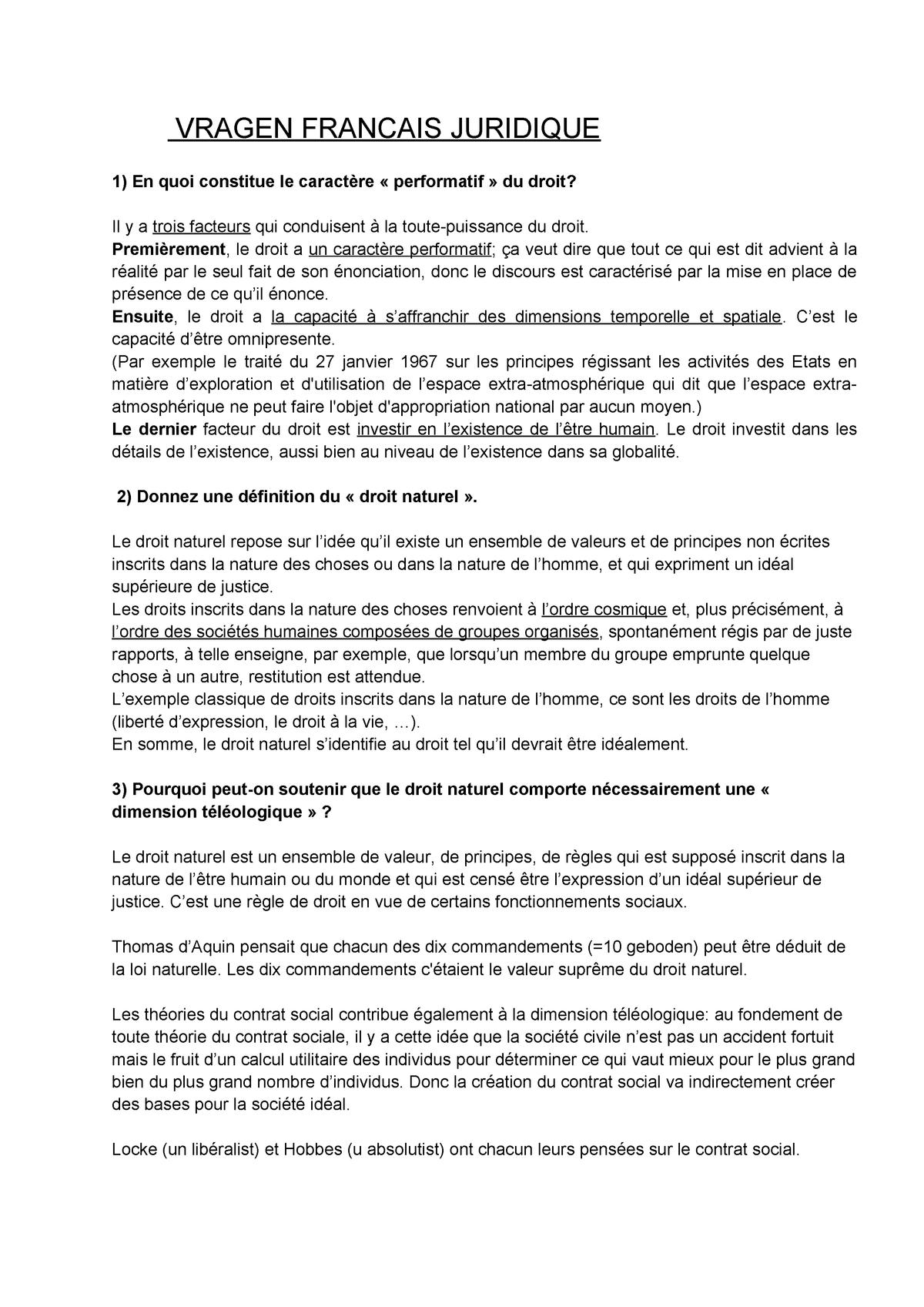 Bonus Porte Interne 2018 vragen- frans - samengevat - law 200 legal studies - studocu