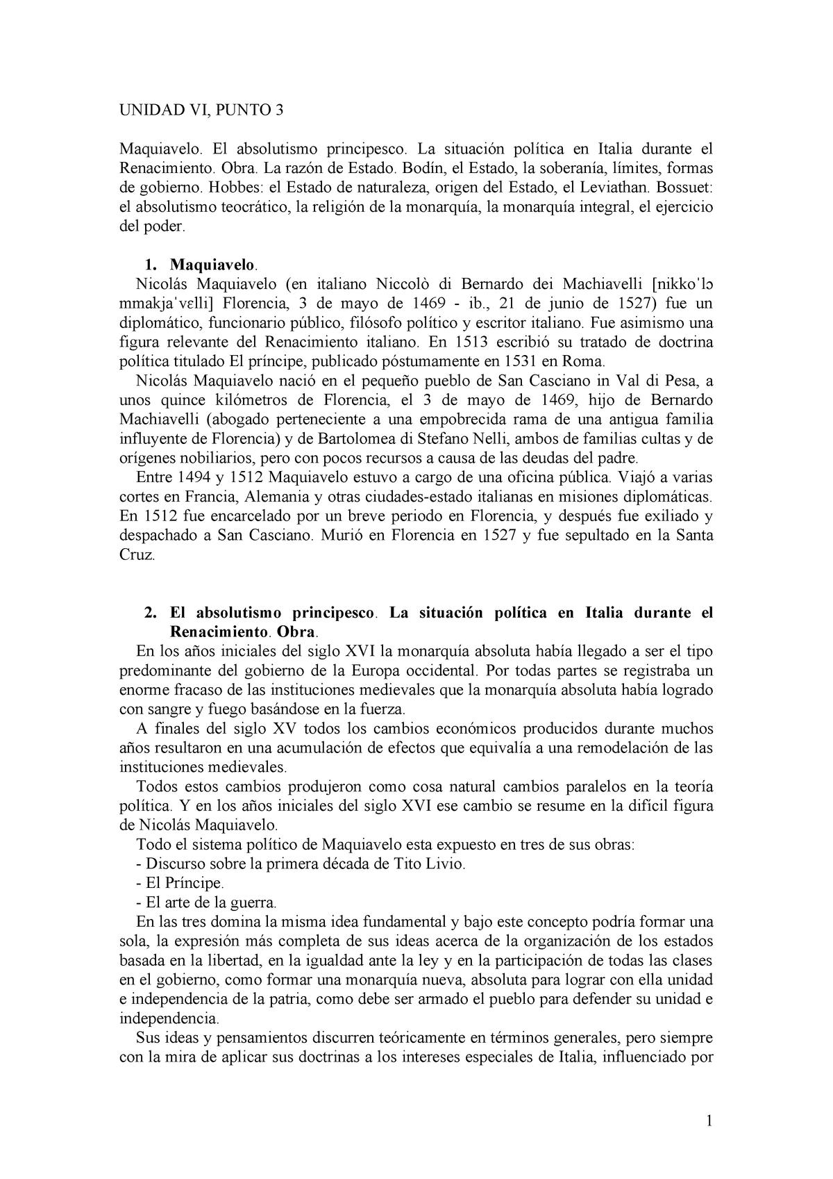 Unidad VI Punto 3 - Resumen Derecho Politico - 0510 - StuDocu