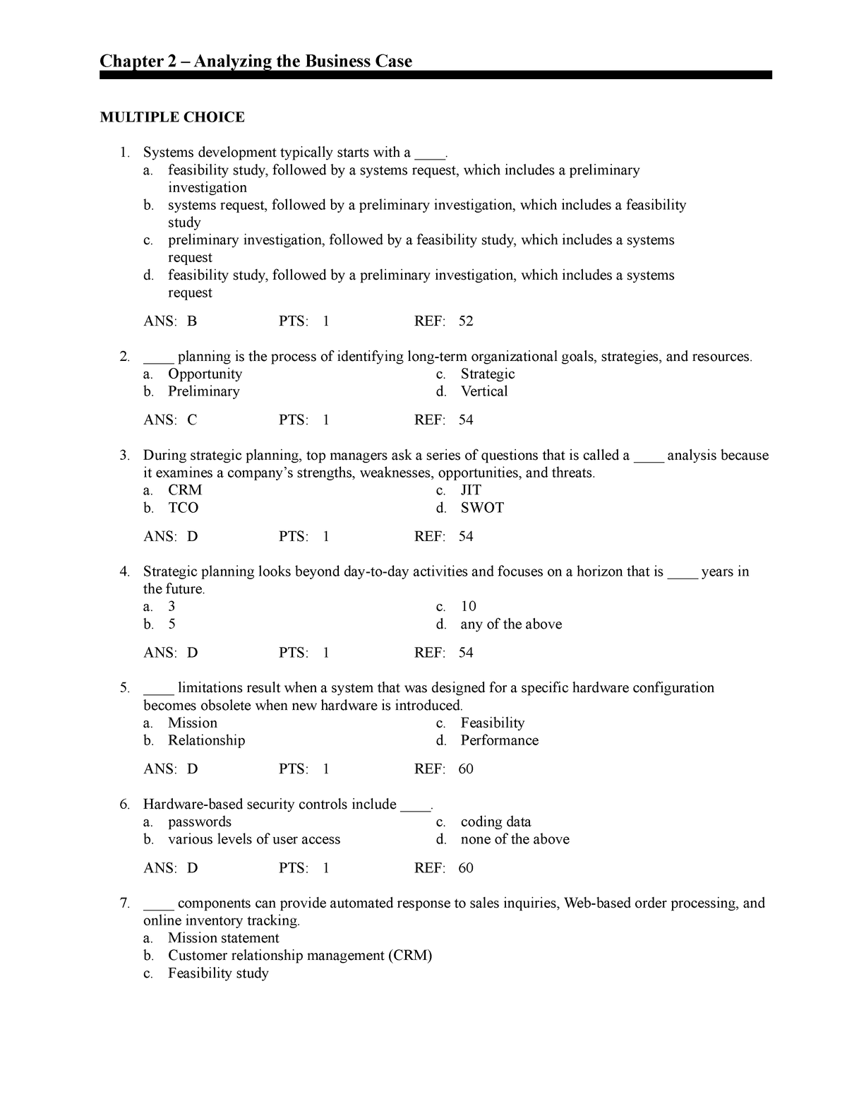 Exam 2018 - 29:623:318: Systems Analysis and Design - StuDocu