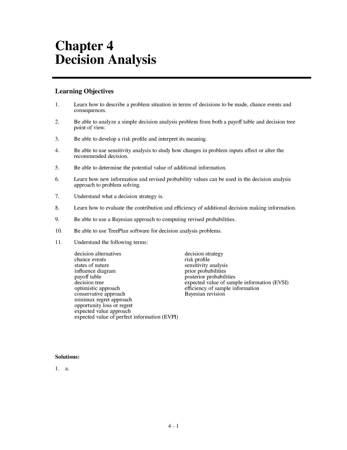Ejercicios Resueltos Cap 4 Modelos Cuantitativos Para Los Negocios Studocu