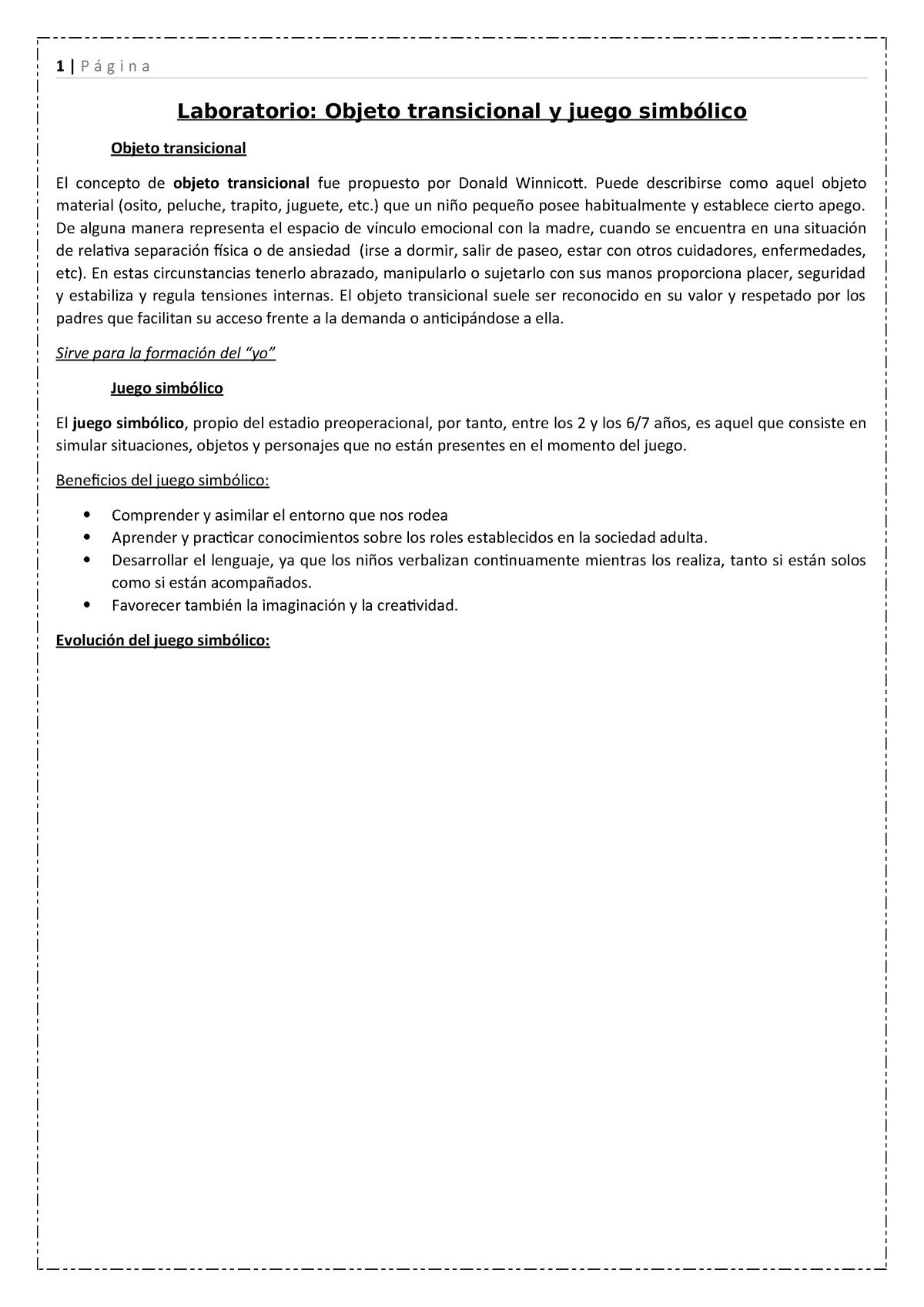 7 Ncd 14 9 Laboratorio Objeto Transicional Y Juego Simbólico 1362