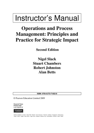 book solution operations and process management principles and rh studocu com