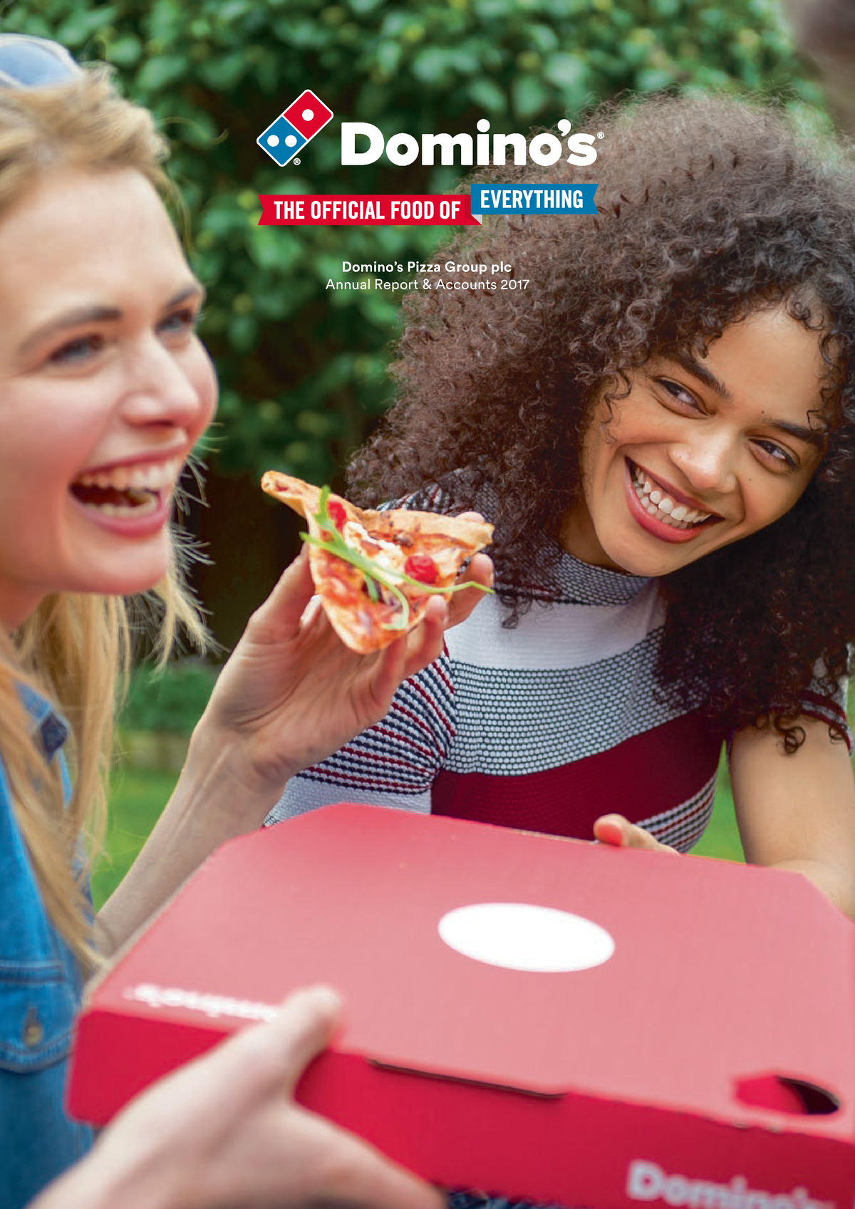 Dominos pizza group plc annual report and accounts 2017 - N14512