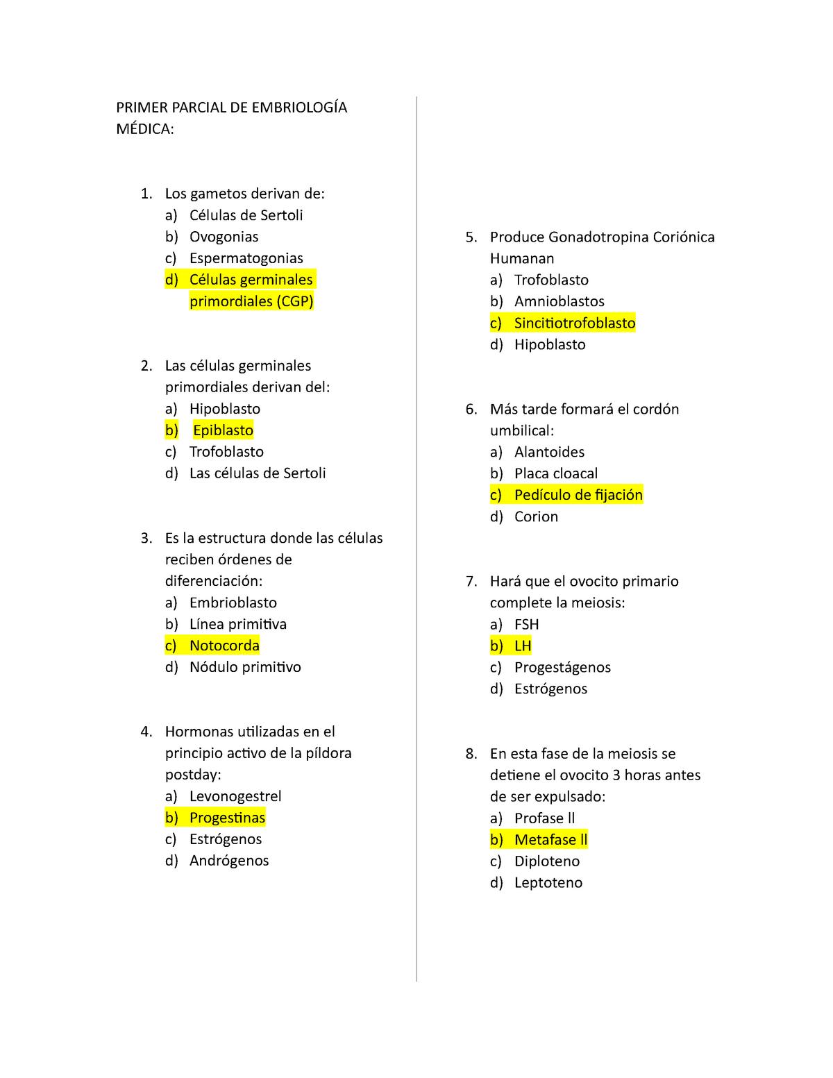 Examen De Muestra Práctica 13 Septiembre 2017 Preguntas Y