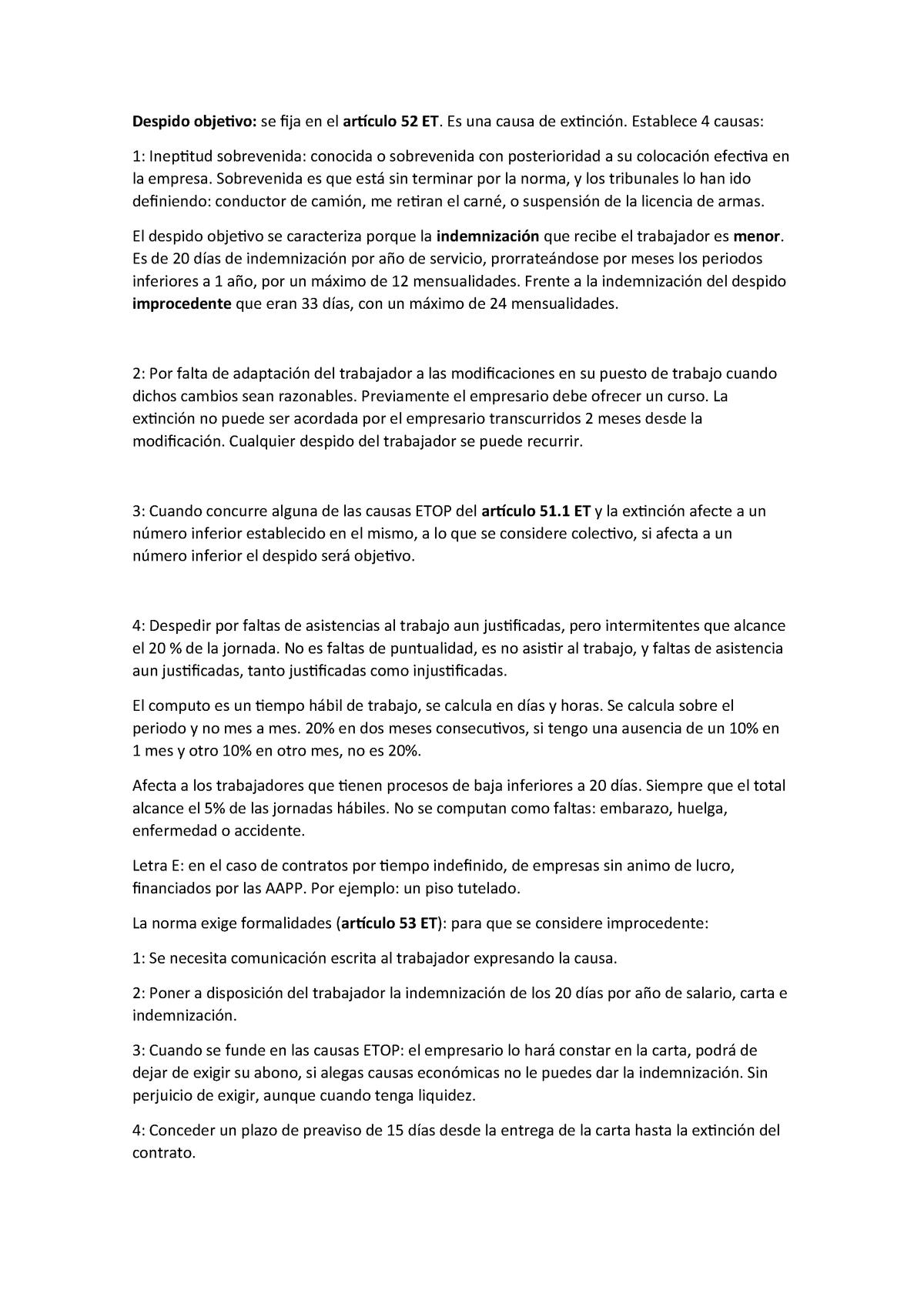 Final T 6 Y T Apuntes 5 6 Derecho Laboral Ucv Studocu