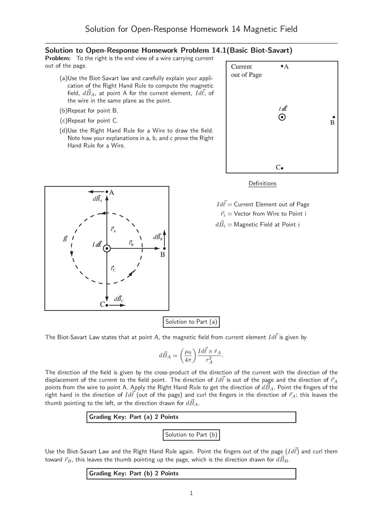 Homework-14-sln - PHYS 2074: University Physics Ii - StuDocu