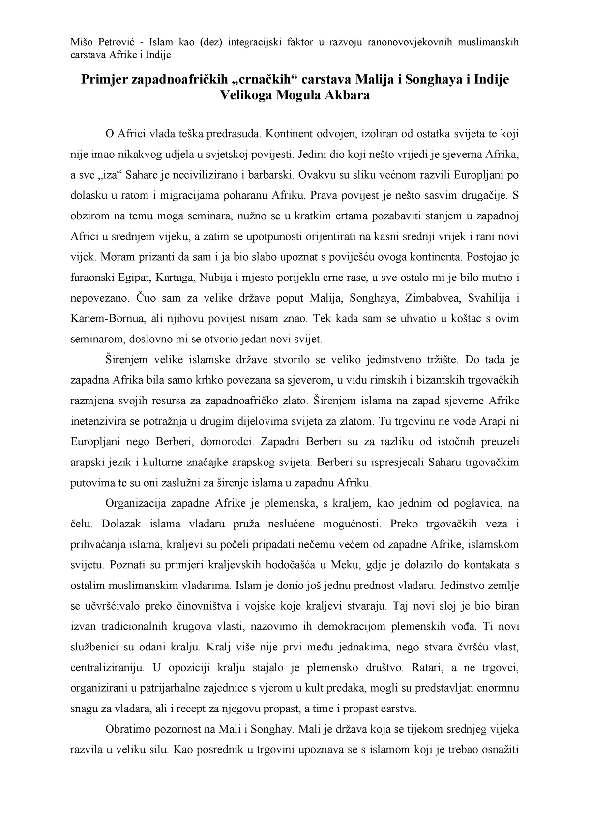 Usklađivanje prirodne selekcije 2
