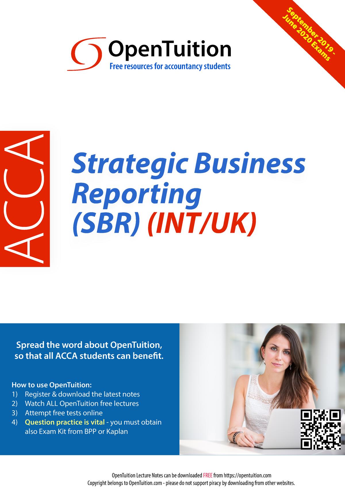 P2 ACCA-SBR-Notes-September-2019-Exams - Financial reporting