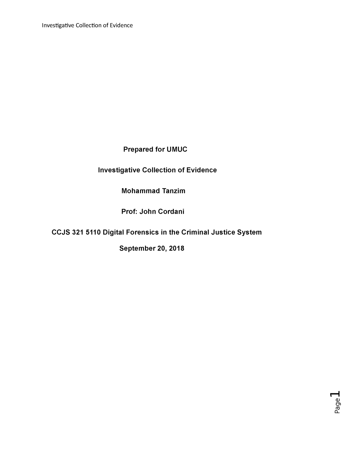 Project 2 ccjs321 - CCJS 321: Digital Forensics in the