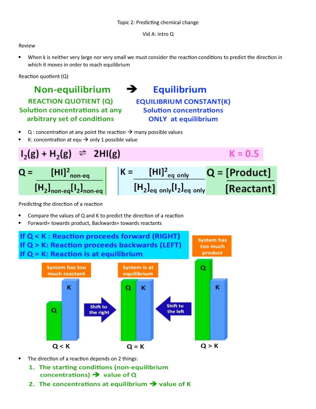 104-Topic 2 - predicting chemical change - CHEM 115 00