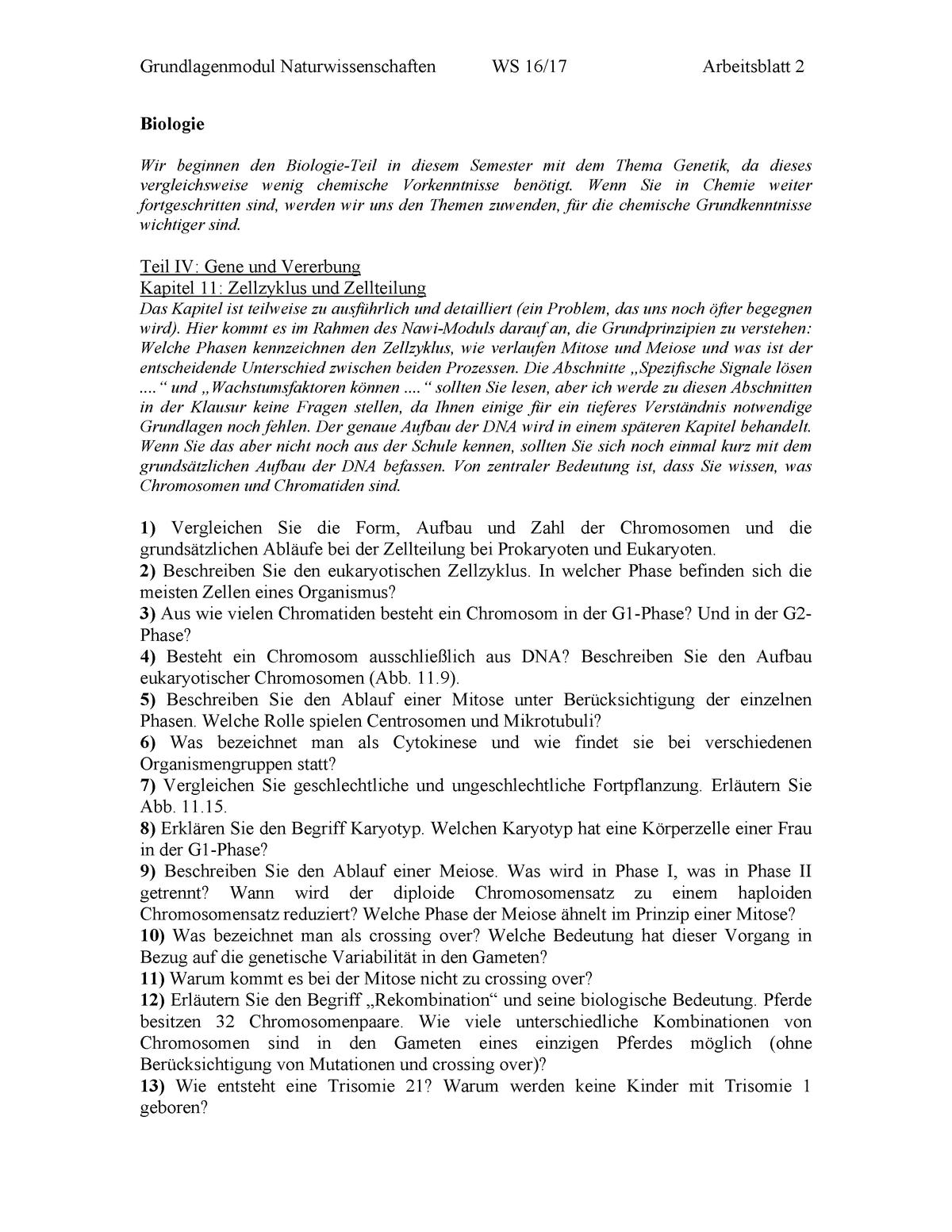 Arbeitsblatt 2 - WiSe 2016/17  Dies sind alle Aufgaben der