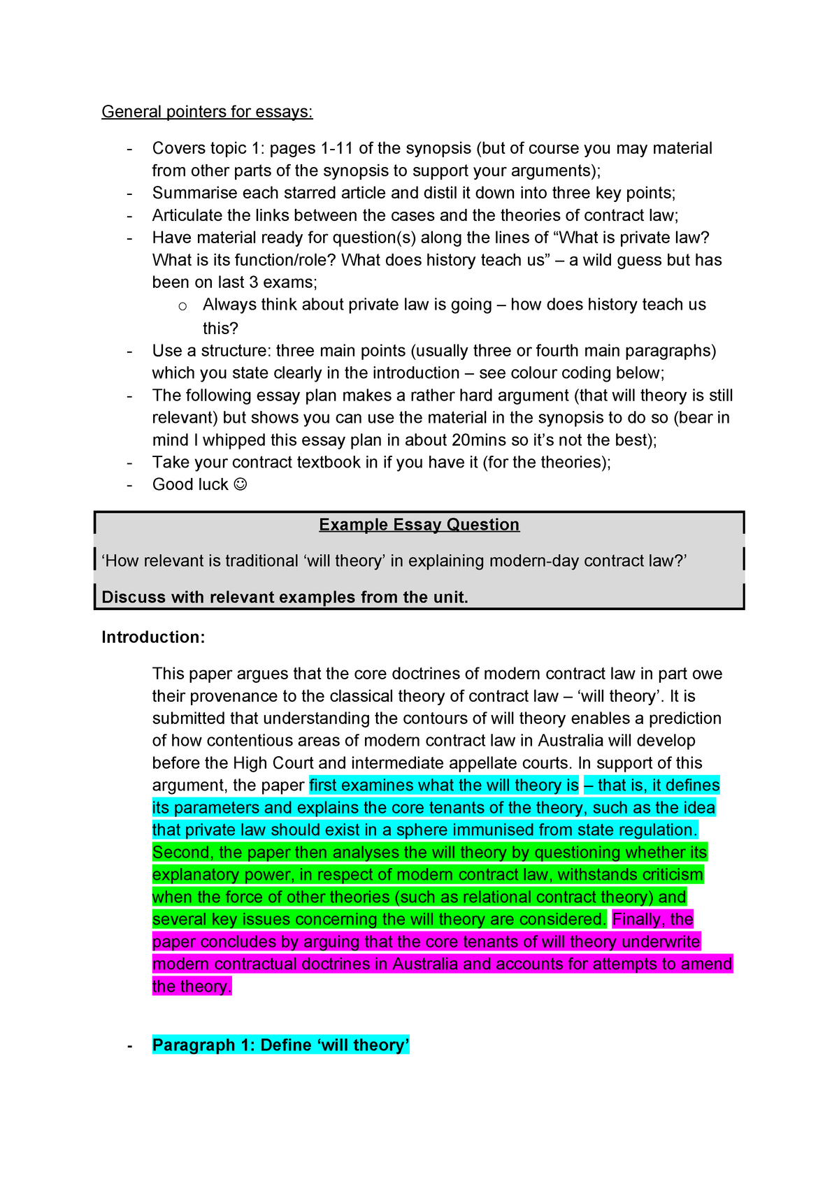 Dissertation law questions