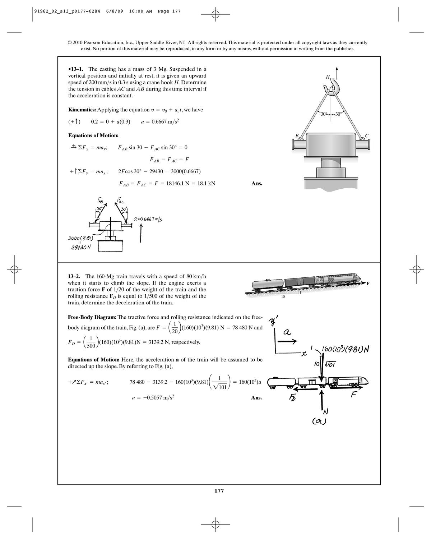 Solution Manual Dynamics Hibbeler - chapter 13 - CTB1210