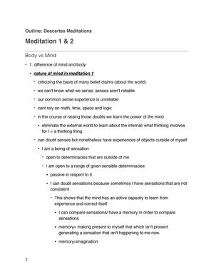 descartes meditation 1