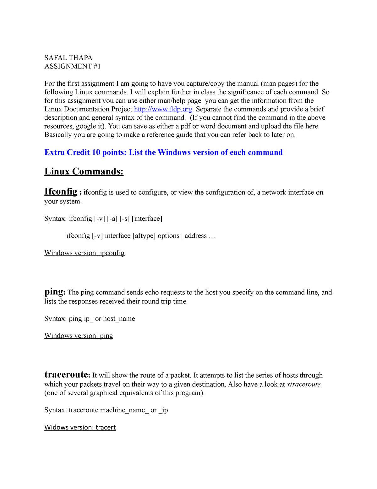Assignment #1 - COSC 3410: Computer Security - StuDocu