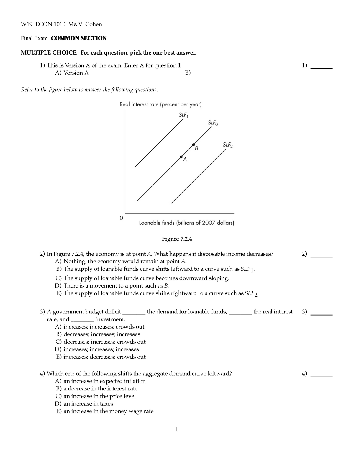 Exam 25 April 2019, questions and answers - StuDocu