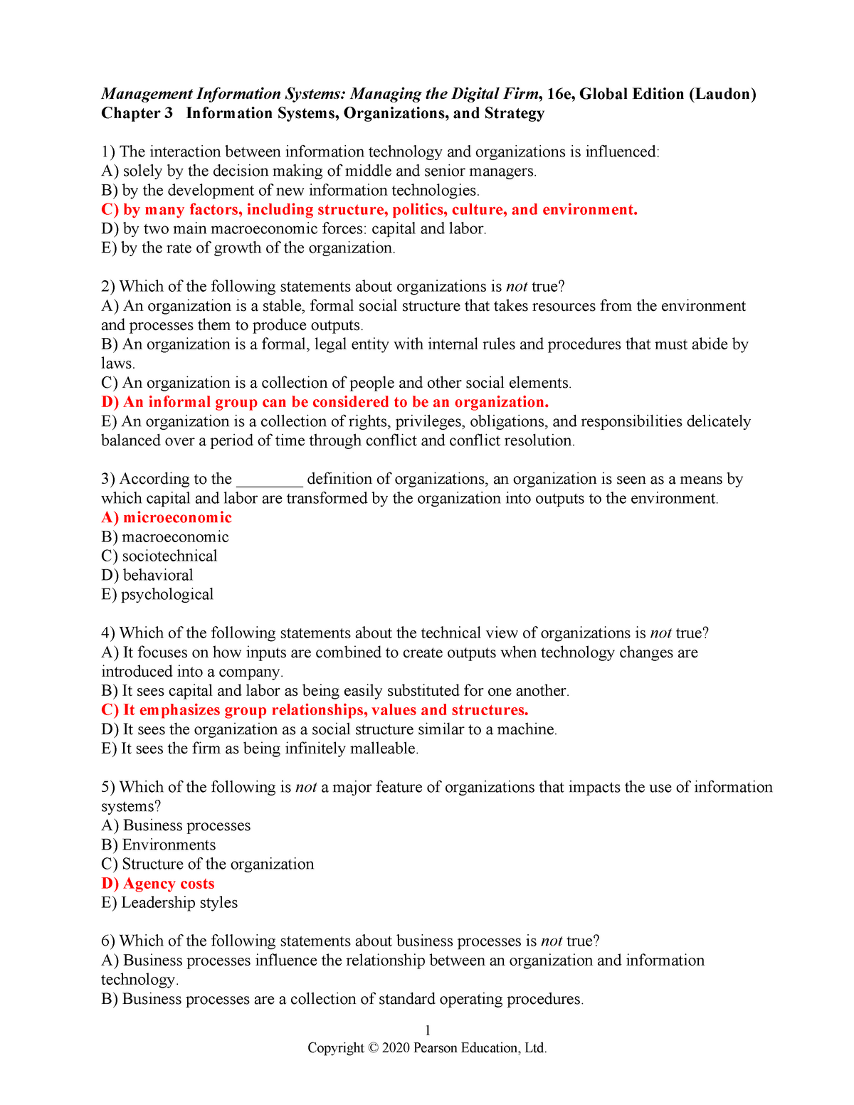 Chapter 3 Questions Test Bank Used By Dr Ashley Opm 2 Studocu