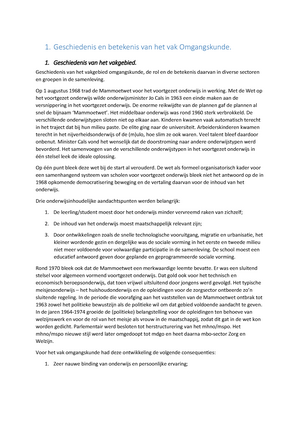 Samenvatting 21 Oct 2018 Studocu