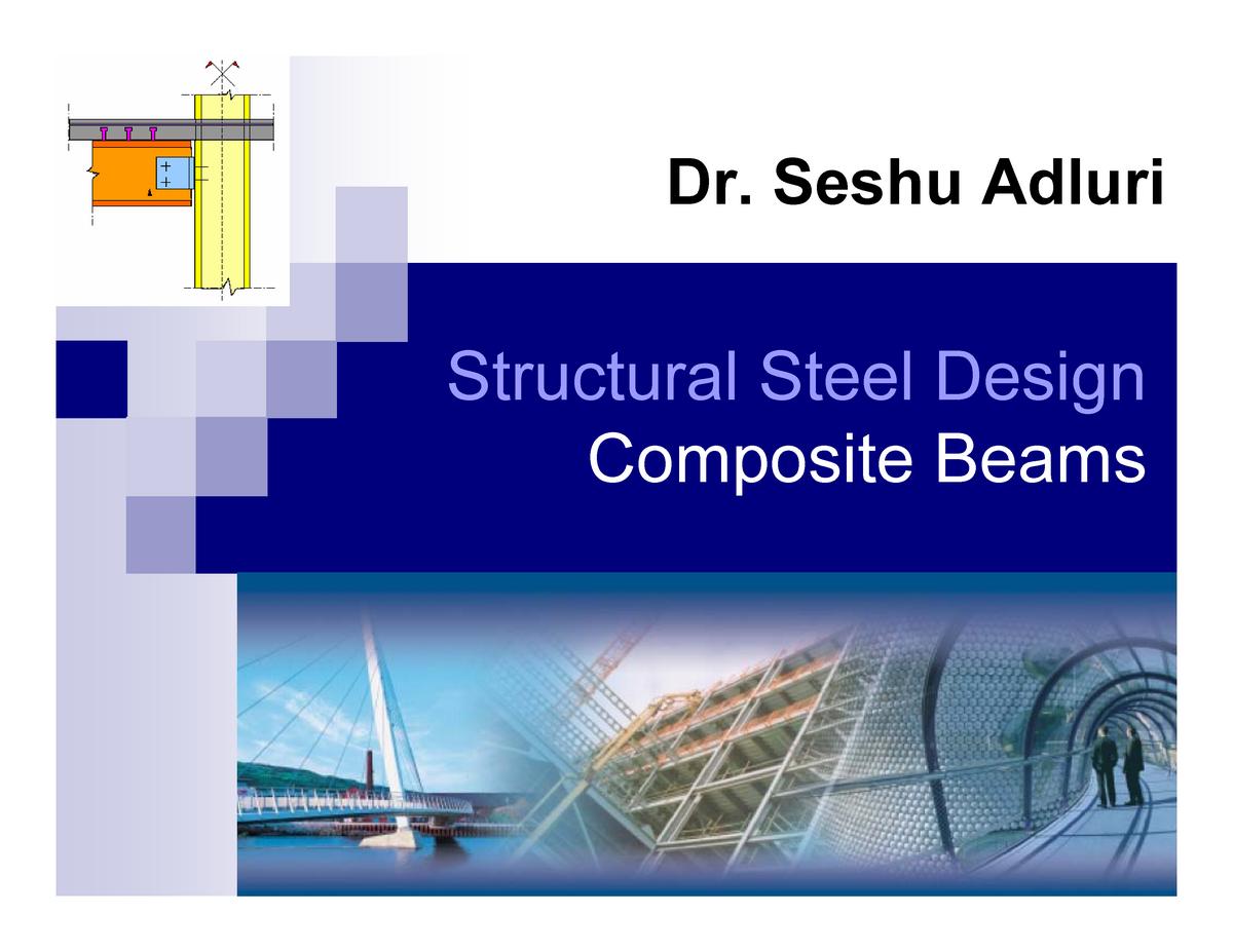 Topic -Composite beams - Stats - StuDocu
