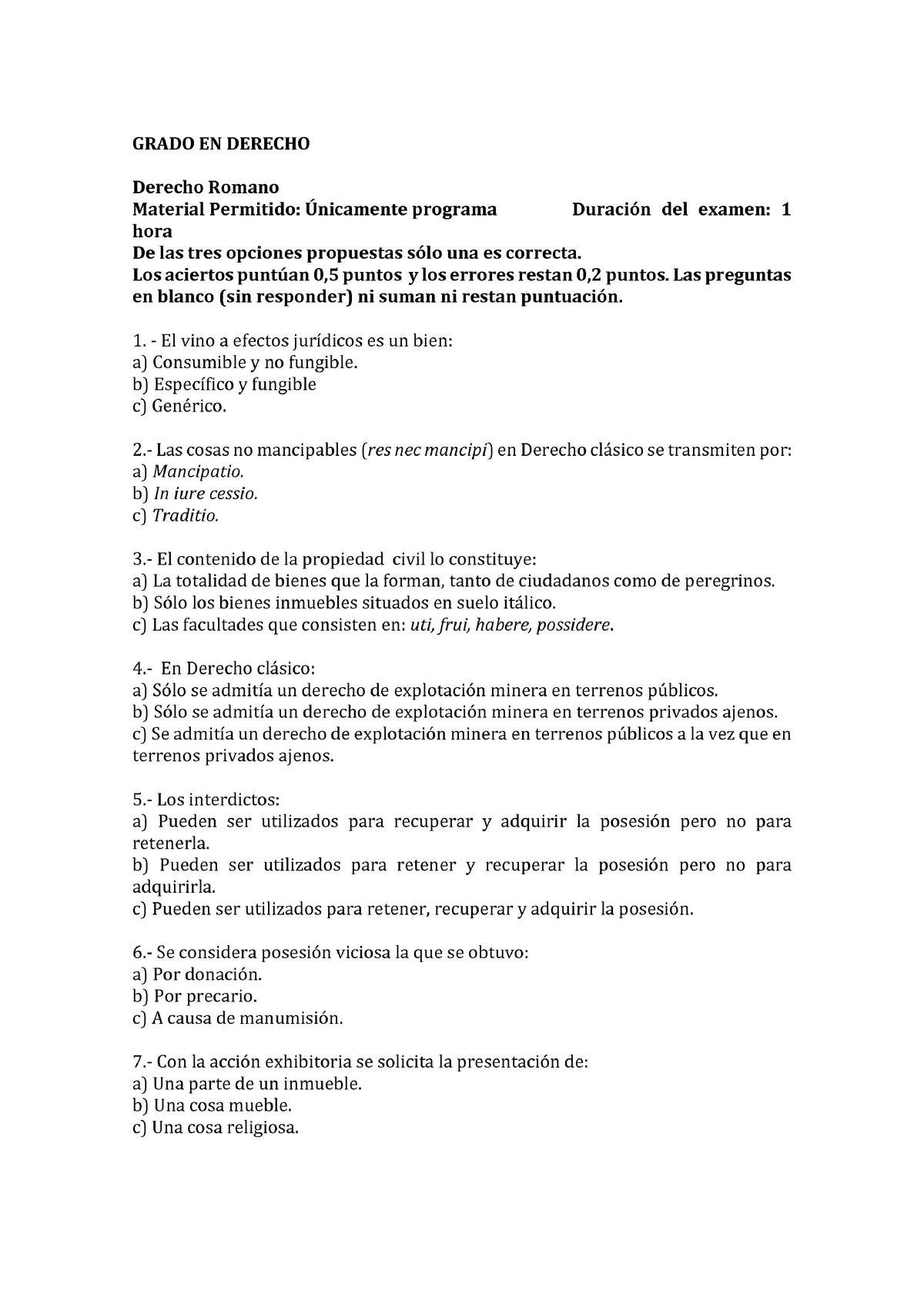 Examen Mayo 2017 Preguntas Studocu