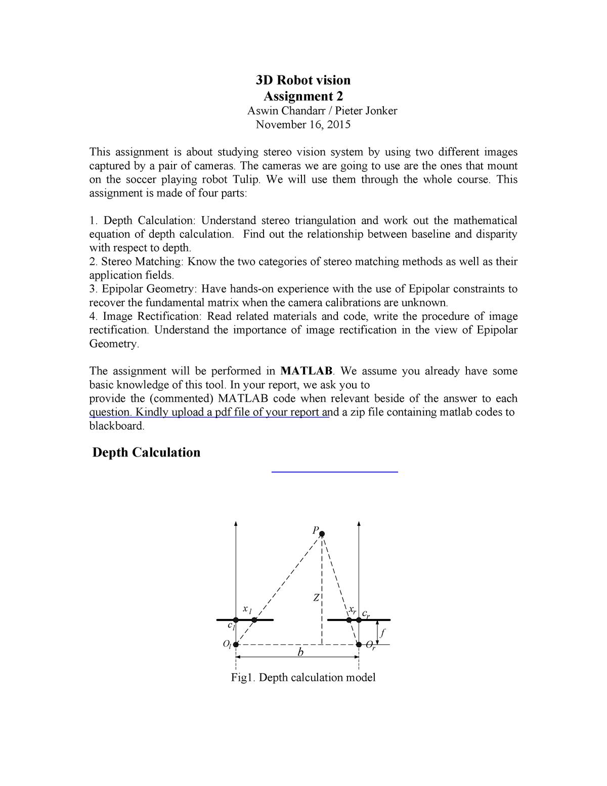 Seminar assignments - 2e verplichte matlab assignment