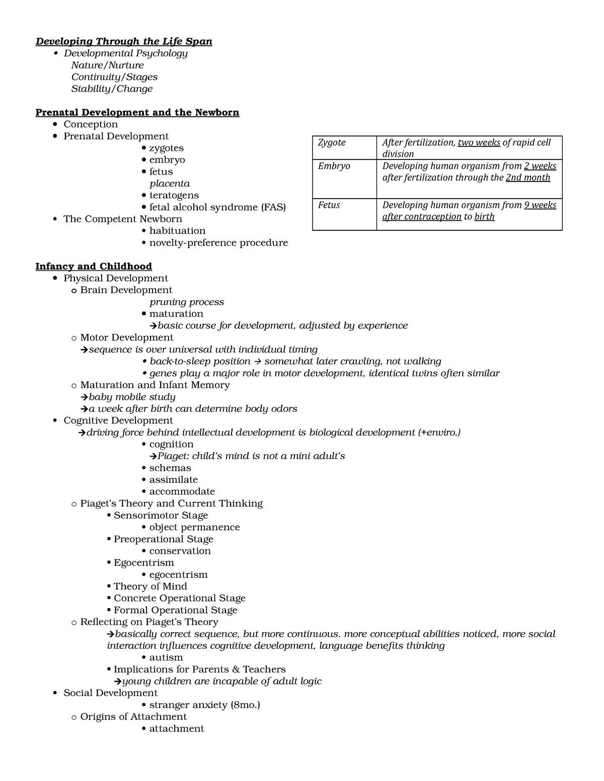 Exam1 Ch5life Summary Intro To Psychology Psych100a Studocu