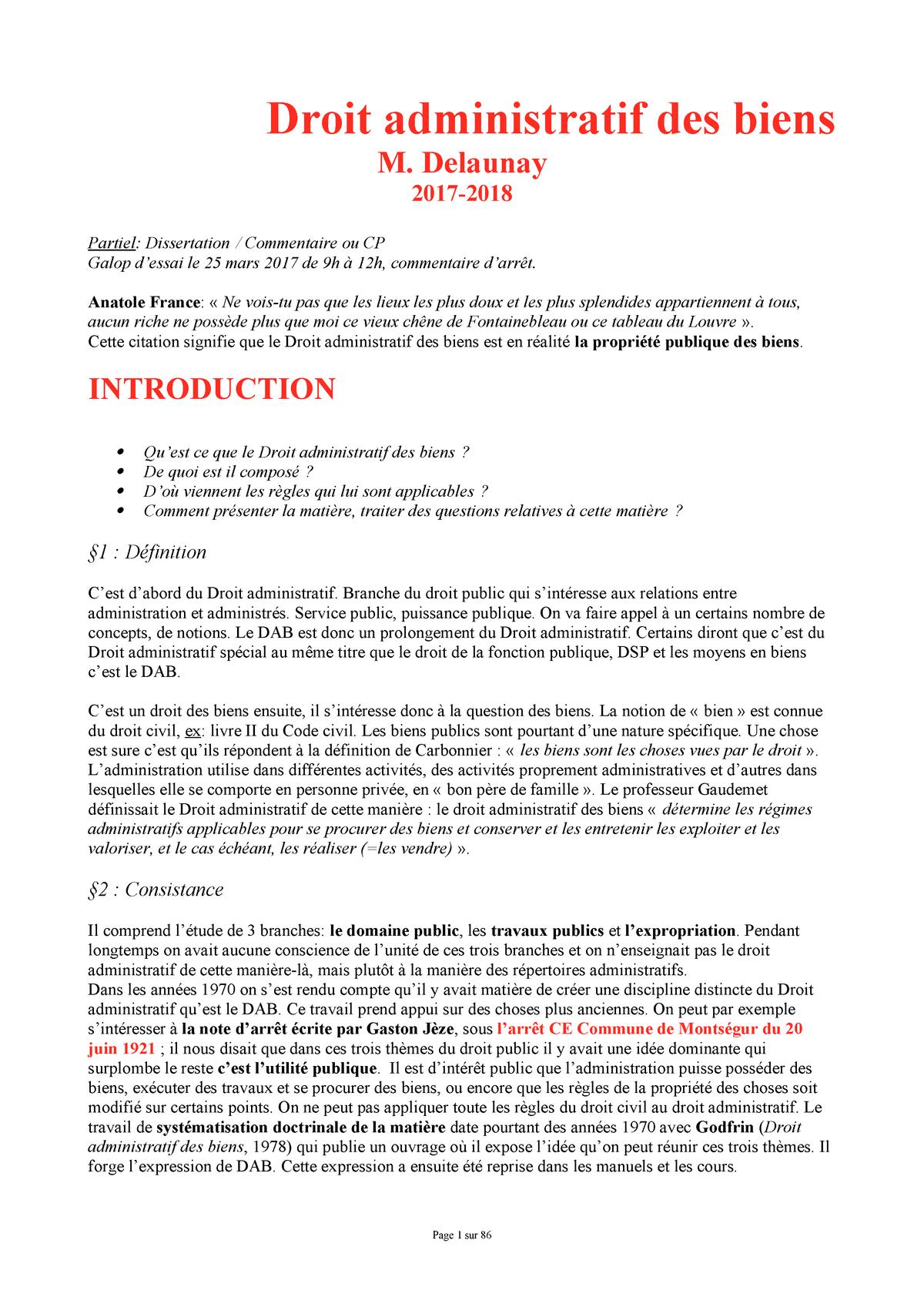 Méthodologie d'une dissertation de droit