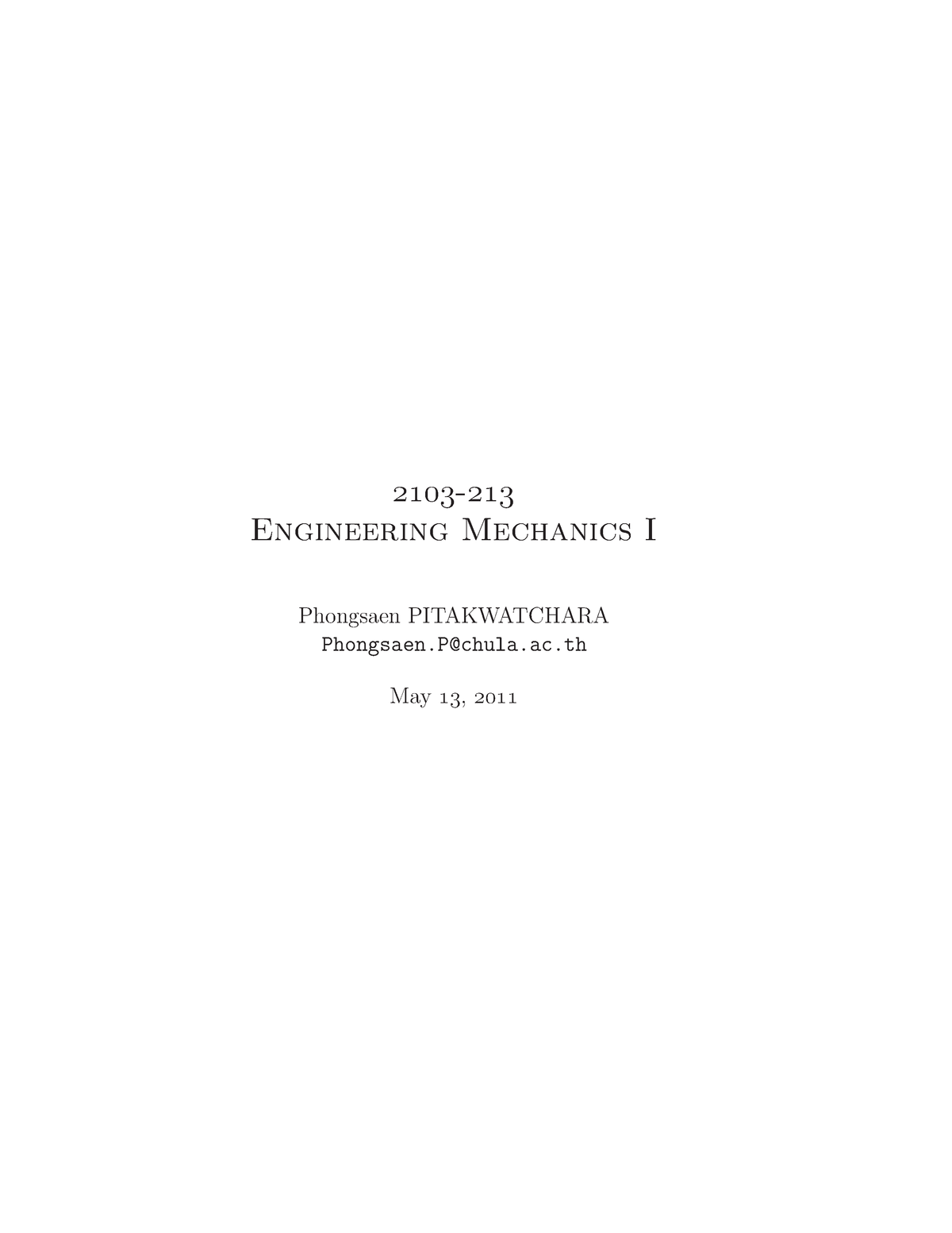Engineering mechanics solved problems pdf - GE6253 - StuDocu