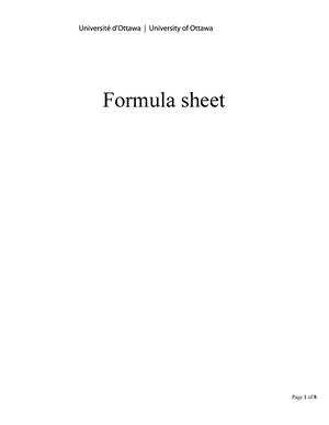 thermochemistry formula sheet