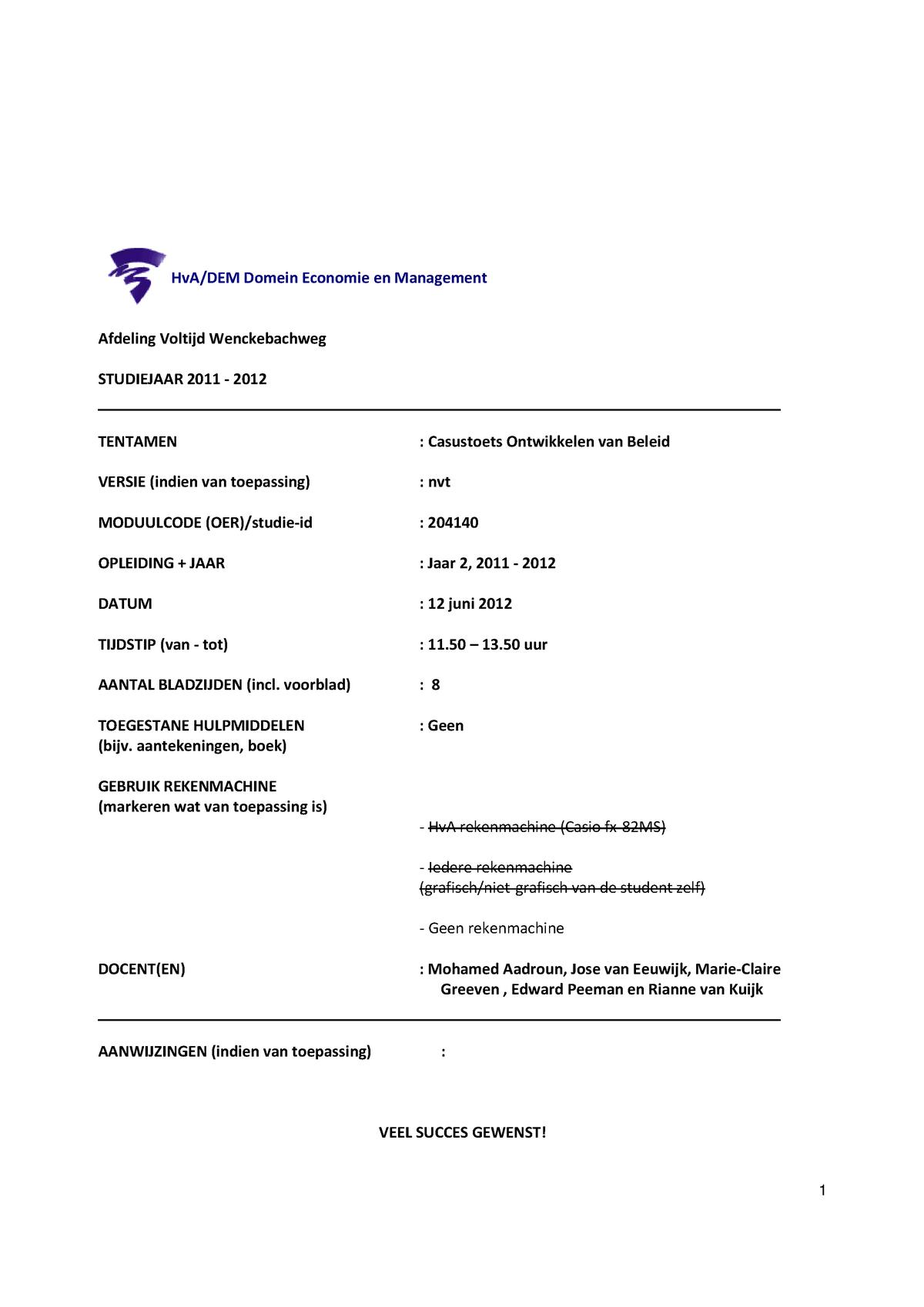 CV financieel administratief medewerker, MBO/ MTS, Den Haag
