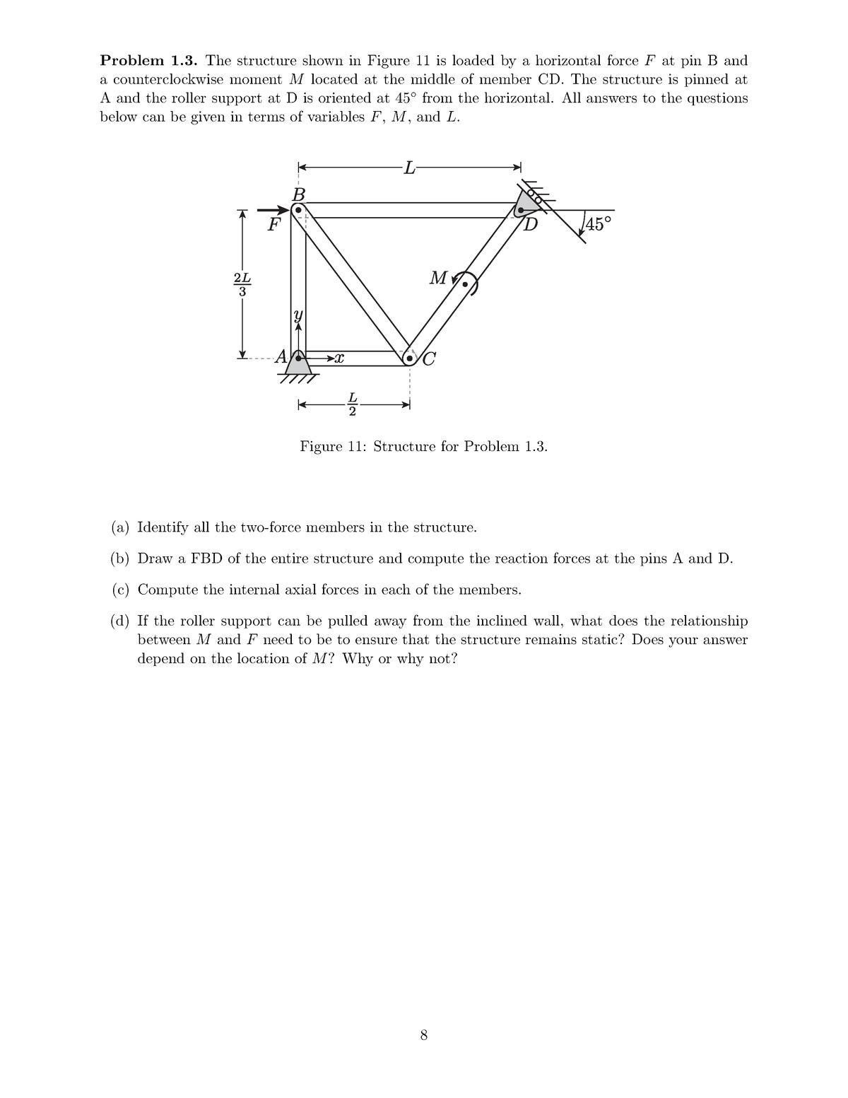 Exam 2018 - 2  001: Mechanics And Materials I - StuDocu