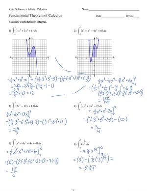 Kuta Software Calculus