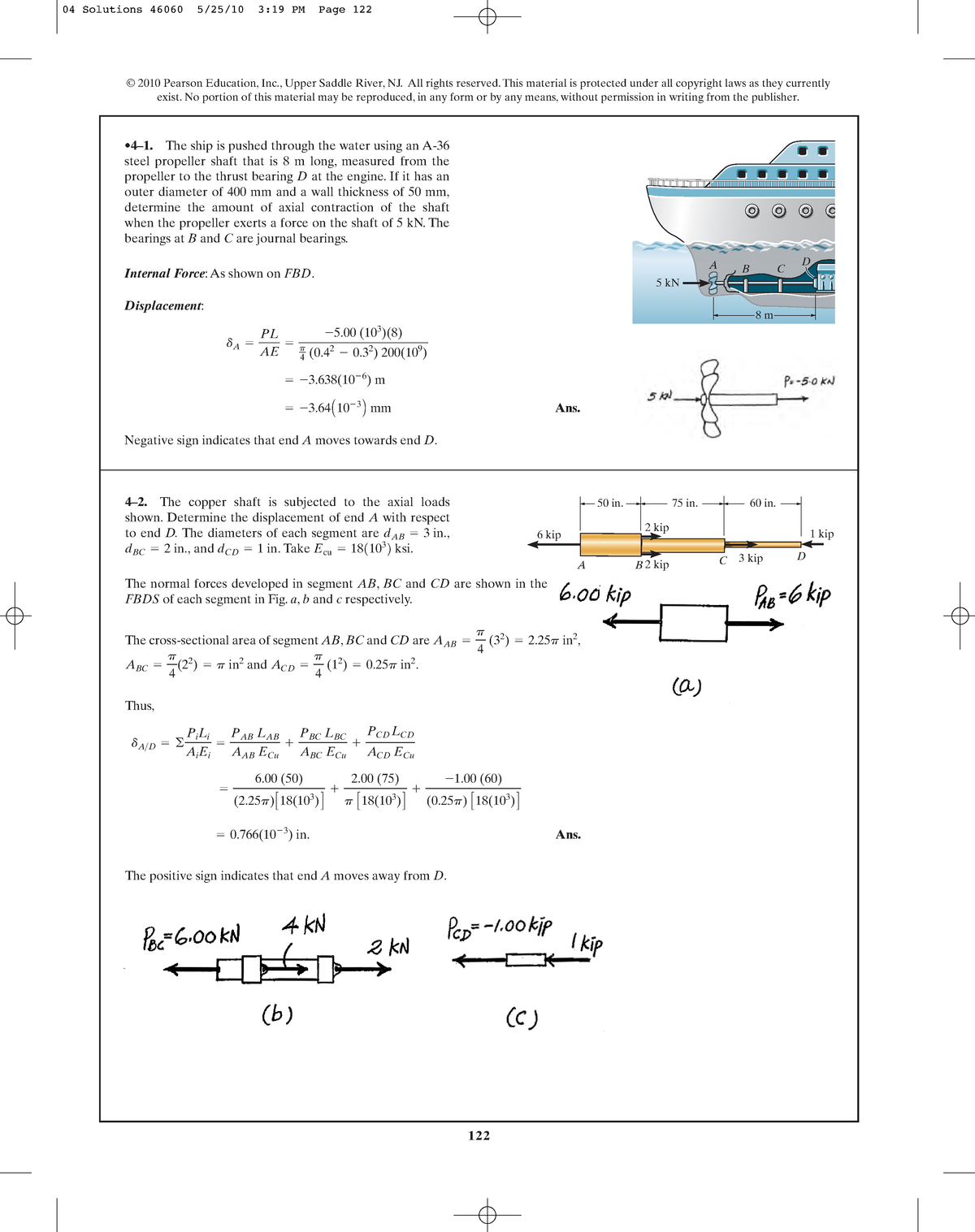 Chapter 04 - Solution manual Mechanics of Materials - MOM
