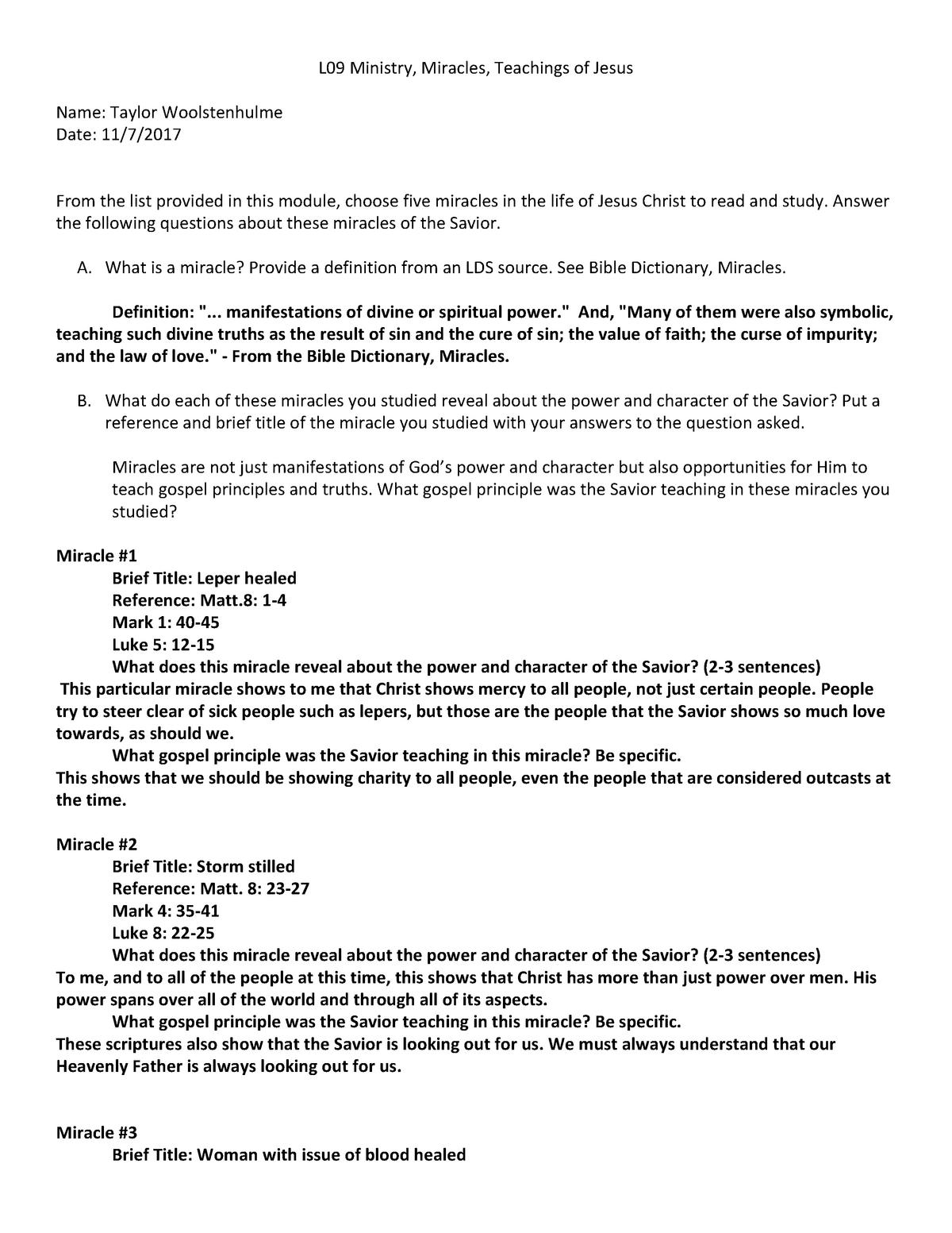 Fd Rel 250 Lesson 09 Writing Template - FDREL225 - BYU–Idaho