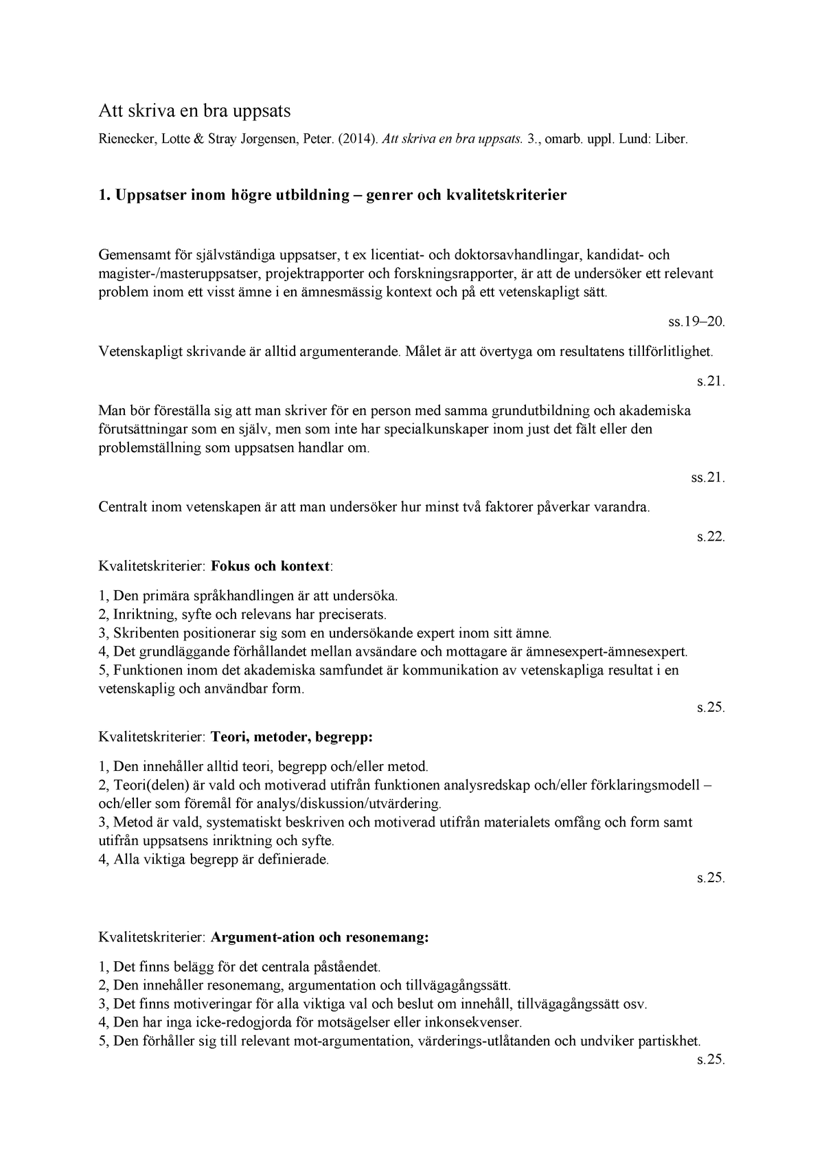 hur skriver man en metod