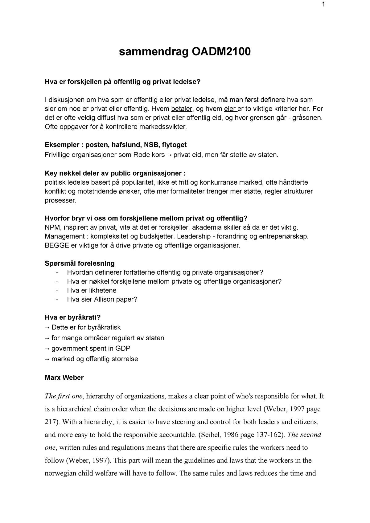 8e649c910 Summary OADM2100 OADM2100 18 Sep 2018 - StuDocu