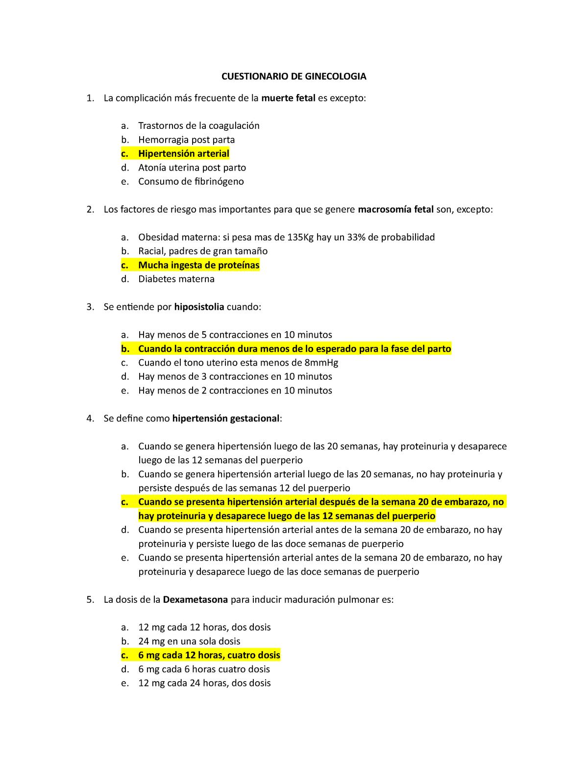 Test 1 15 Mayo 2020 Preguntas Y Respuestas Studocu
