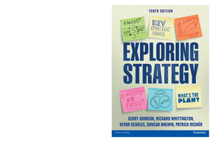 Exploring strategy 10th edition gerry jo studocu fandeluxe Choice Image