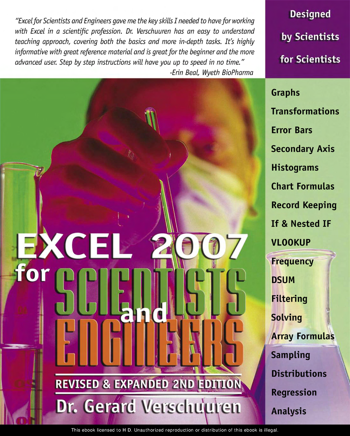 Excel 2007 ( for Scientists & Engineers) - FA001: Financial