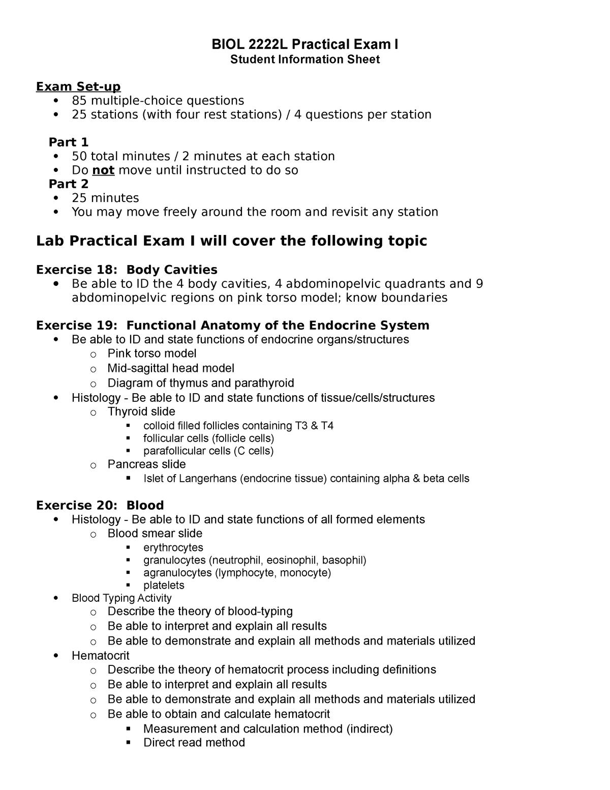 Pancreas Histology Anatomy And Physiology Lab Exam I