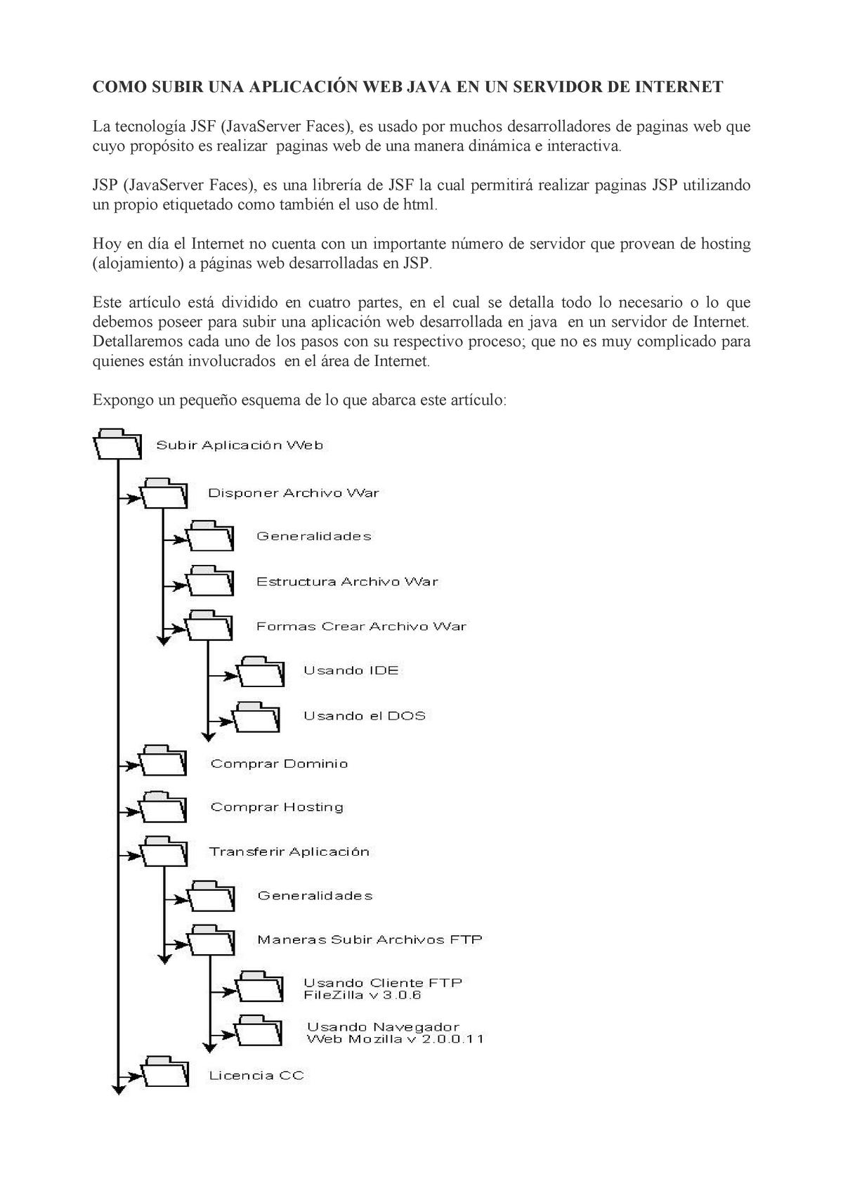 Como Subir Una Aplicación Web Java En Un Servidor De