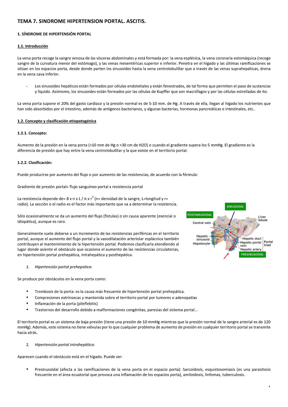 Varices estomales hipertensión portal y varices esofágicas