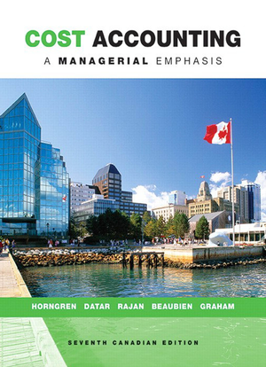 Cost Accounting A Managerial Emphasis 15th Edition Pdf