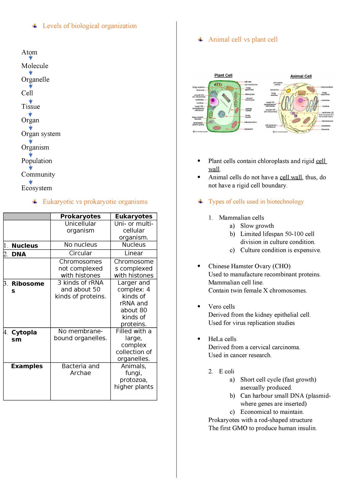 W2 - Lecture notes 2 - BTH1802: Fundamentals Of