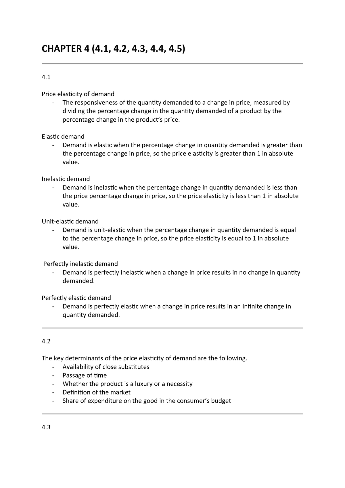 Chapter 4 Lecture Notes 3 Uow Studocu