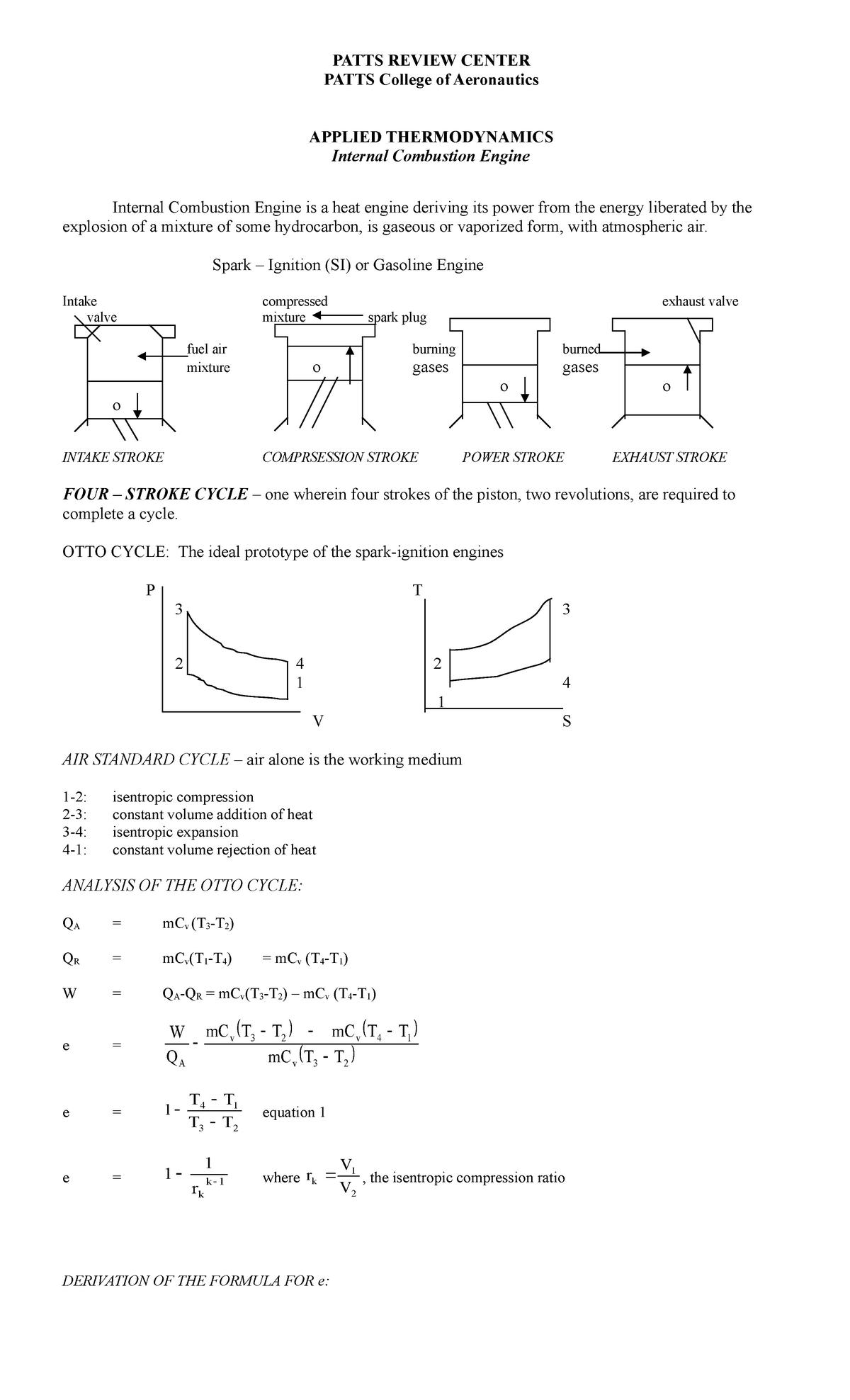 Cycle Pv Diagram Likewise 4 Stroke Timing Diagram In