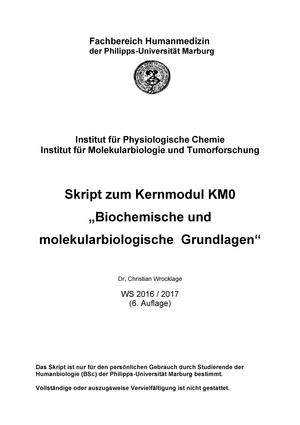 Vorlesung Biochemie/Molekularbiologie III - 20 120 14053: Vorlesung ...