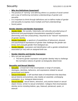 Sexual identification terms